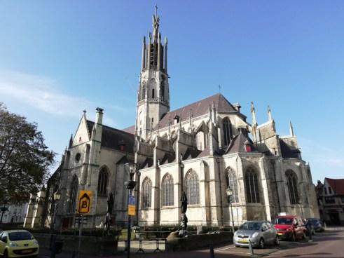 De basiliek in Hulst