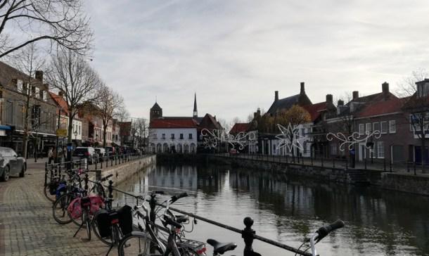 De haven in Sluis