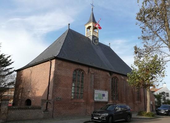 De protestantse zaalkerk in Retranchement (1630)
