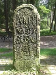 Rückseite vom Moisburger Stein