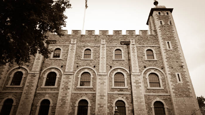 The Tower of London - outside