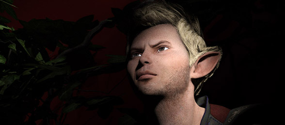 New digital artwork - Trouble in Elfland