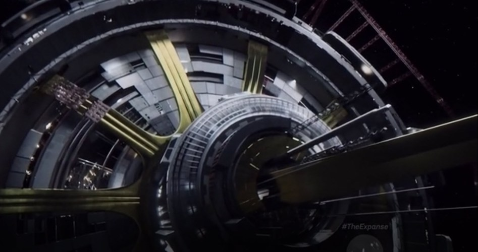 SyFy have released a great video about The Expanse television series #TheExpanse