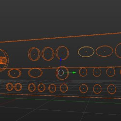 The control panel for the x-ray     #Blender