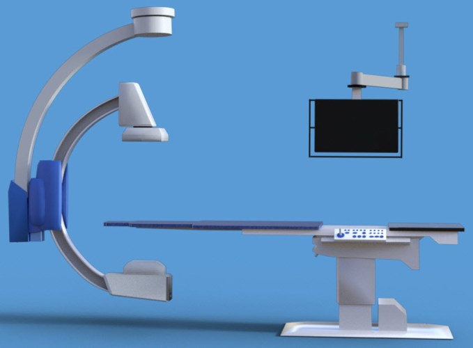 How did I make the x-ray machine model?  #Blender