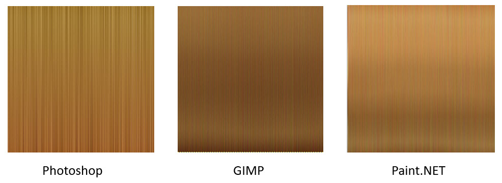 Making a simple hair texture using #Photoshop or #GIMP or #Paint.Net