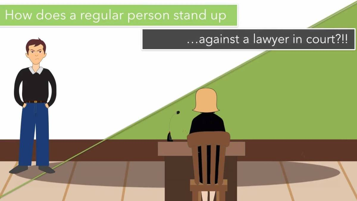 Don't Have A Lawyer? Courtroom5 Will Help You Win On Your Own