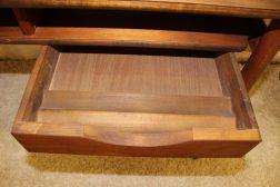 drawer of mid century modern floating desk
