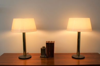 lightolier pair of lamps (7)