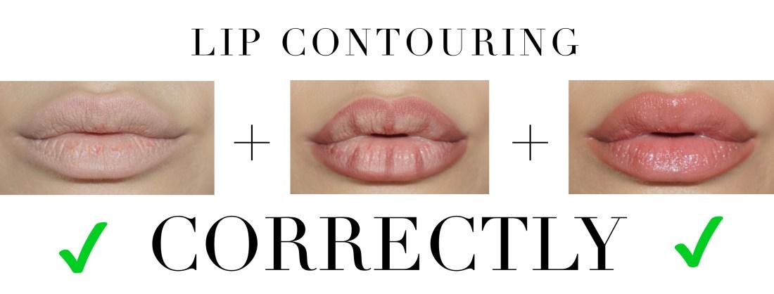 lip contour correct