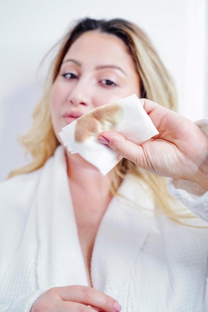 neutrogen makeup remover, jojoba oil, skincare, blogger