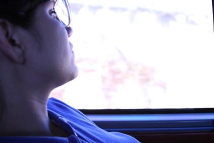 yo, soñando despierta en un bus, 16 horas hasta Cúcuta (2013)