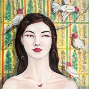 Kirsten's Dream, 2016, acrylic on canvas