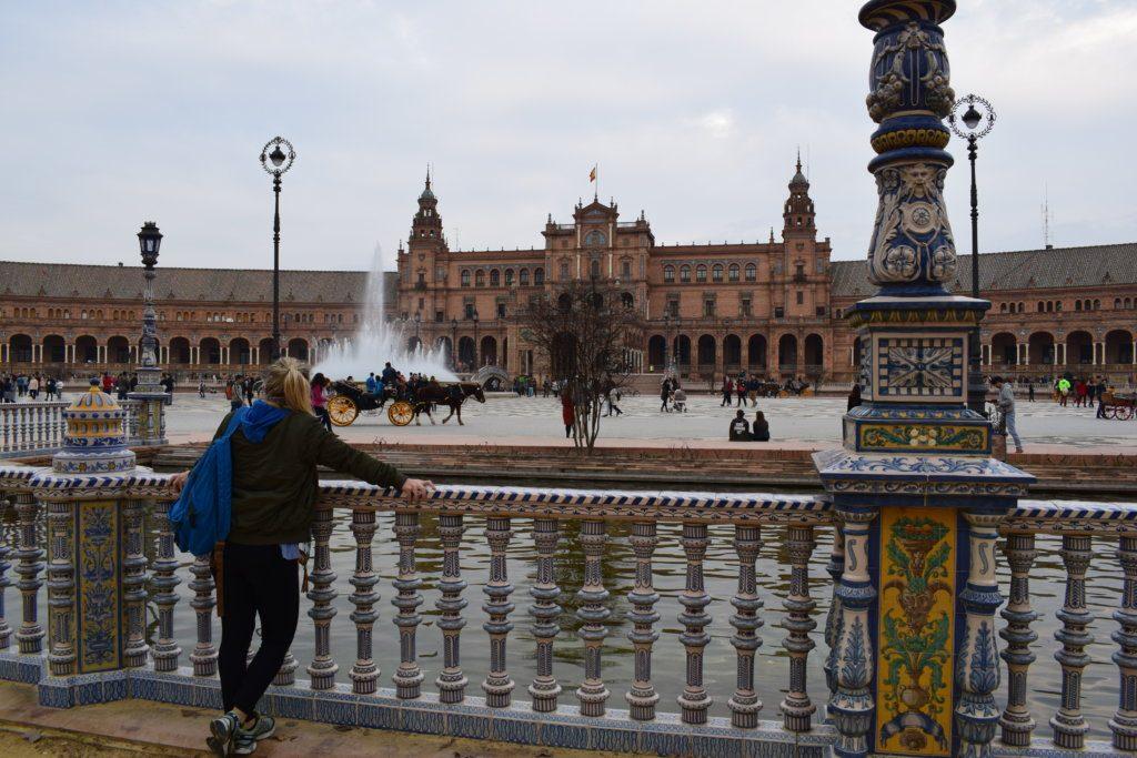 Exploring Plaza de Espana