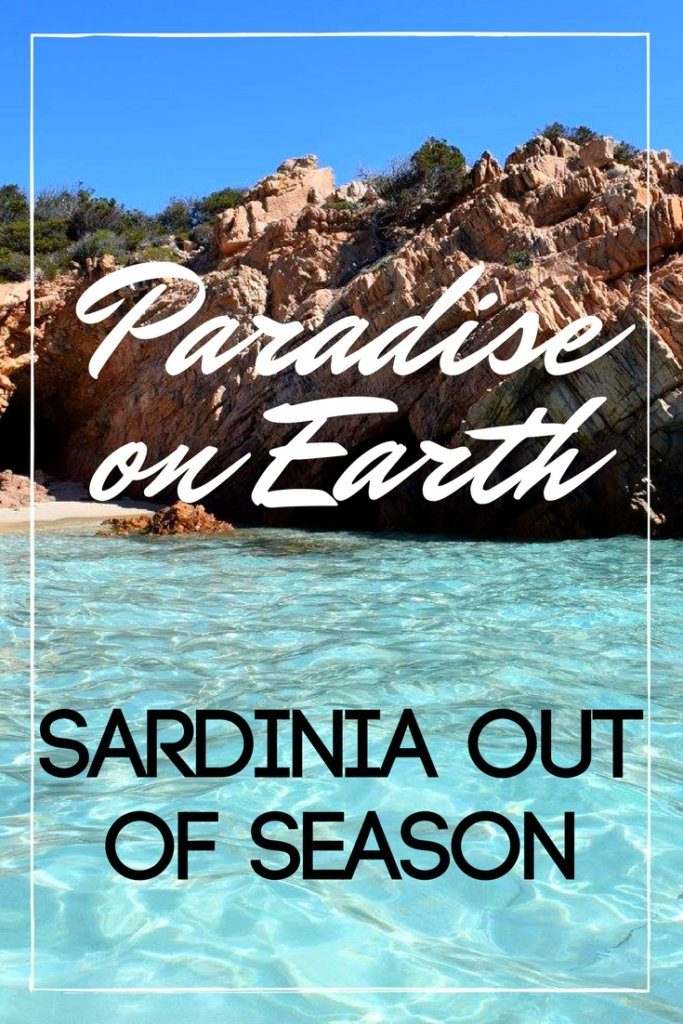 Sardinia is a paradise on earth, especially more so if you visit out of season. Imagine crystal clear water, white sandy beaches and beautiful viewpoints, and all this without other tourists around! Beaches become even more beautiful when you're the only one there!