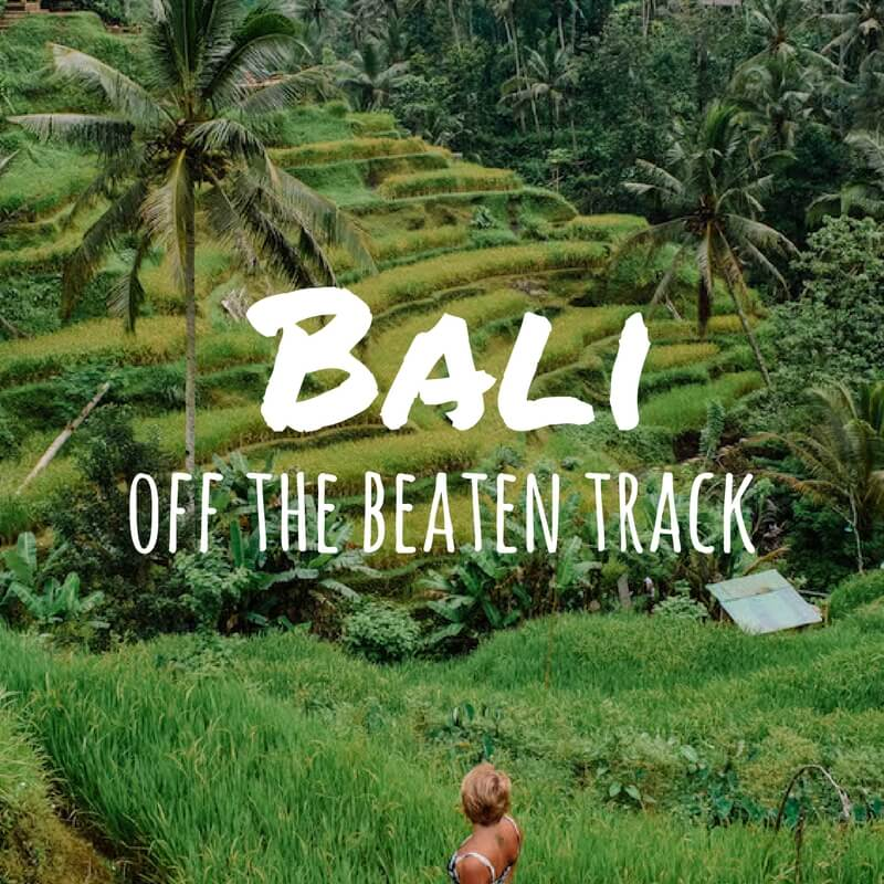 Places To Avoid In Bali & Untouched Areas To Discover