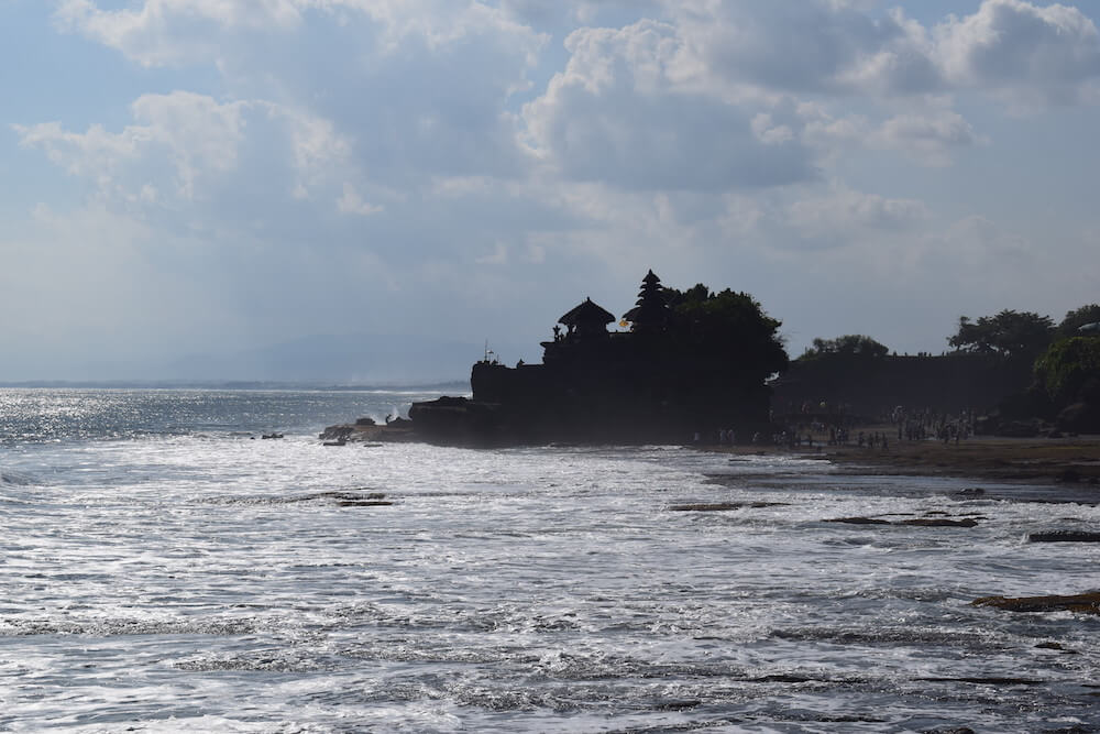 View of the Tanah Lot temple