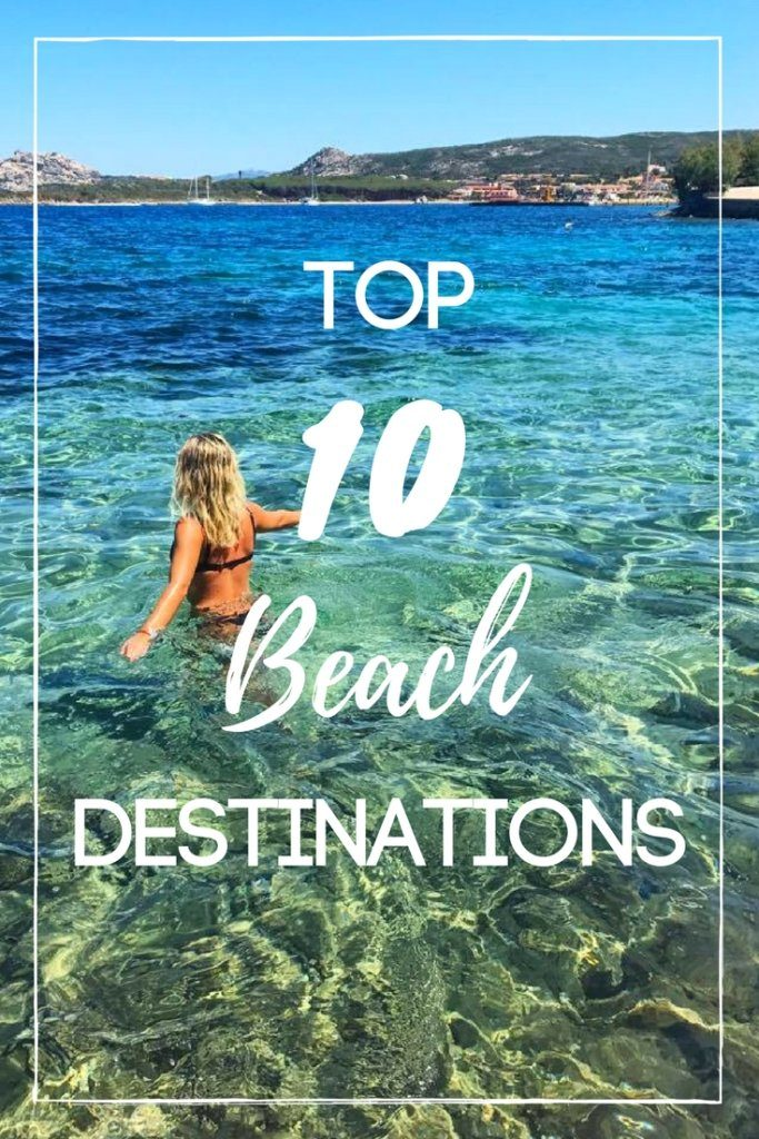 Are you looking for some summer beach inspiration? Look no more! You have just found the ultimate Top 10 list of beach destinations that you need to get to this summer, check it out!
