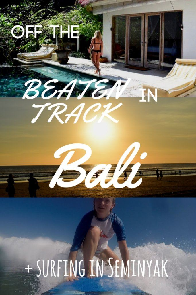 Check out this post for a full run down of some of the best beaches in Bali. Highlighting the more touristy spots to avoid (if that's not for you!) and the more off the beaten track places that are yet to be discovered.