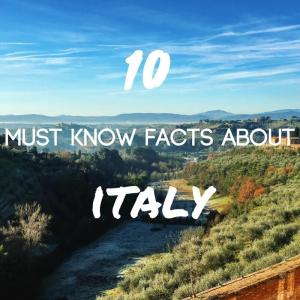 Top 10 Italy Facts