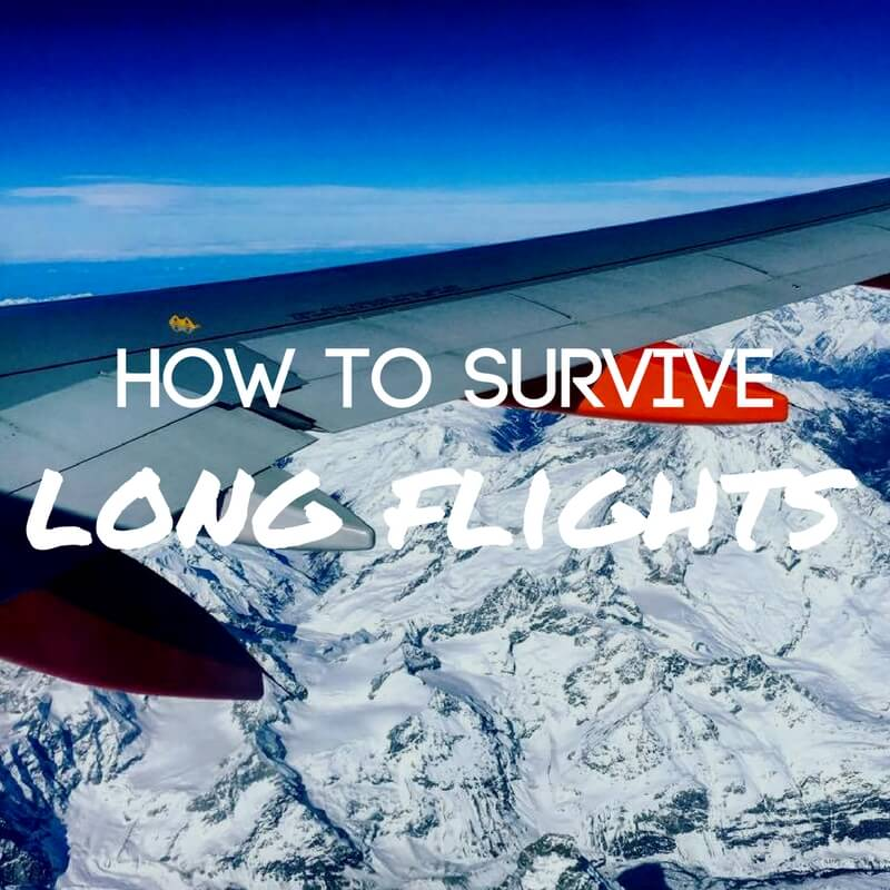 How To Survive Long Flights: Top 10 Tips