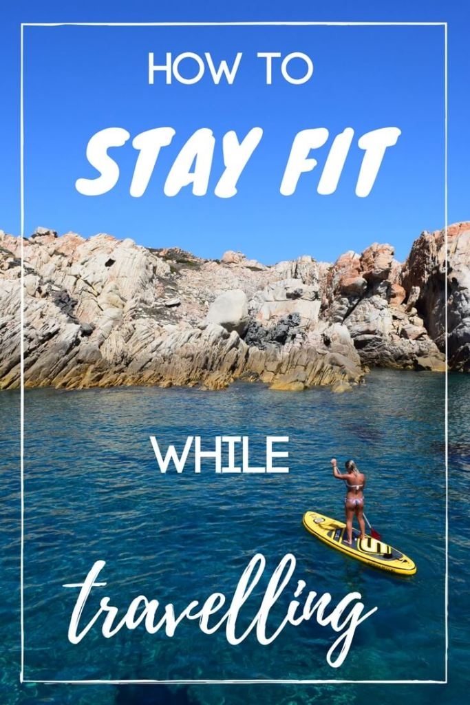 Staying fit while being on the road is a common worry, which is why I put together this guide on easy things that you can do stay in shape while travelling!