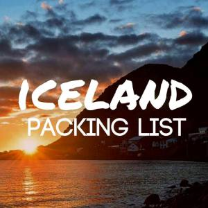 Iceland packing list featured pic