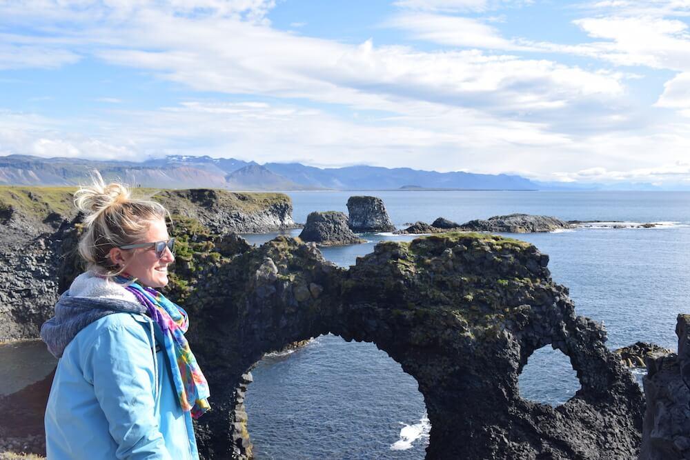 Exploring Iceland's coastline