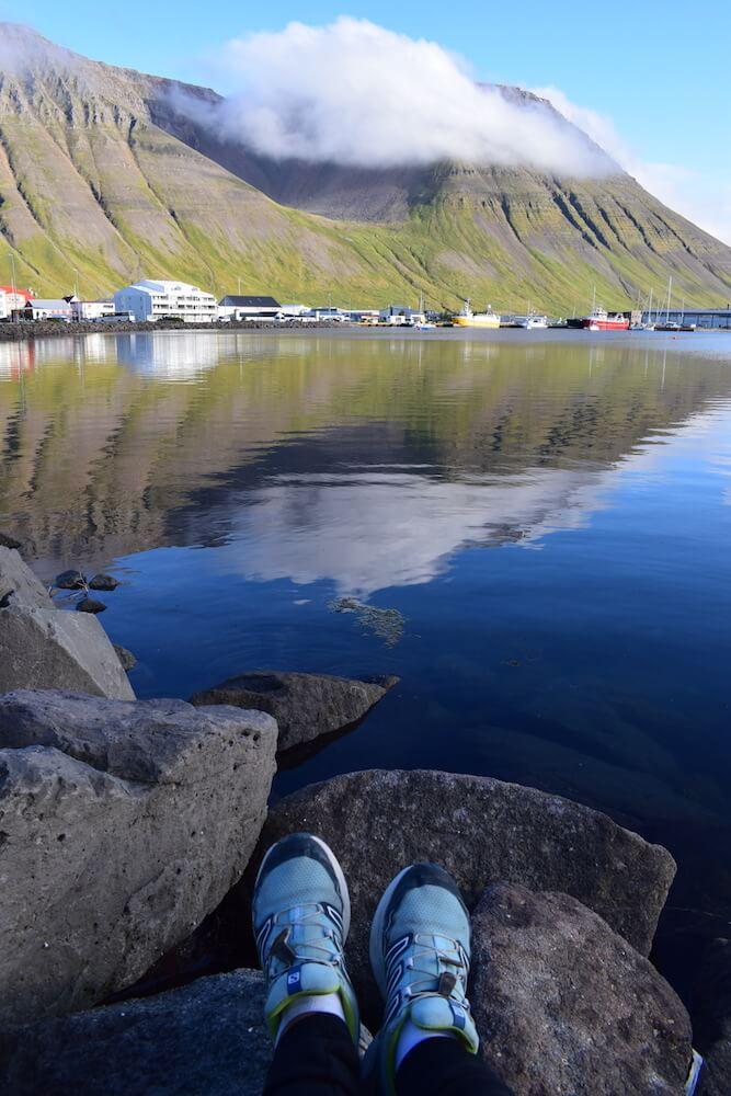 Reflections in Ísafjörður