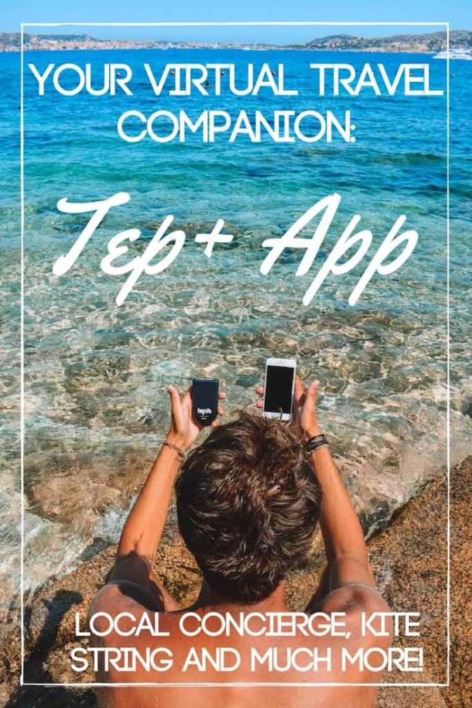"The Tep+ App acts as the perfect virtual travel companion both for solo and group travellers. It has a ""kitestring"" service to check in on you so you can be safer, and a local concierge to help you make the most of your trip. Read all about it here!"