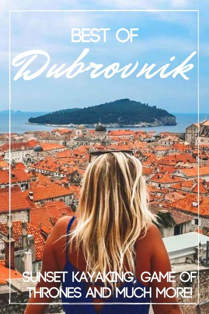 Dubrovnik is a beautiful city in Croatia, that was also the set of Game of Thrones. Come find out the best things to do in Dubrovnik, from a kayak sunset tour to a walk on the walls of the Old Town.