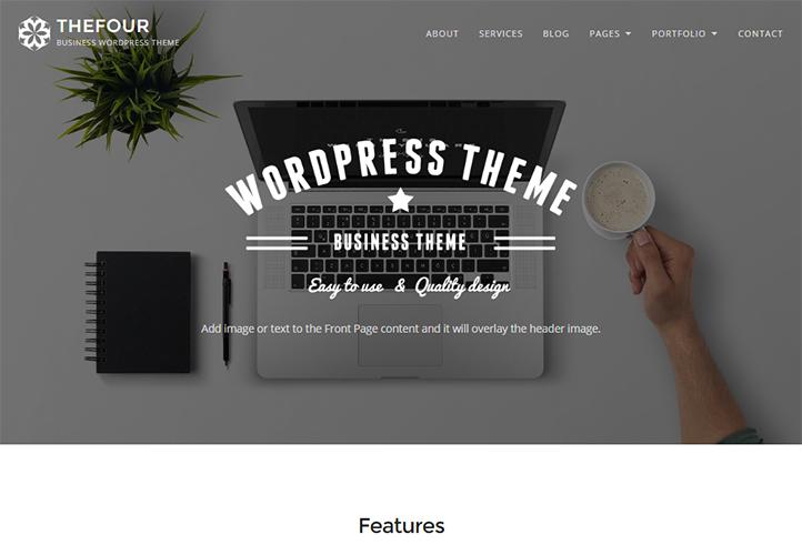 TheFour Business WordPress Theme