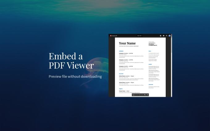 How to Embed a PDF Viewer in WordPress - GretaThemes