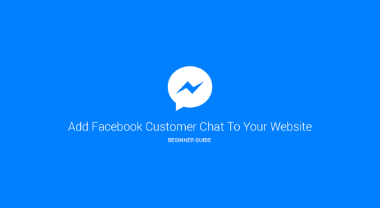 add facebook customer chat to wordpress