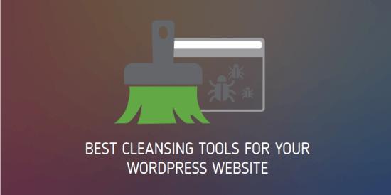 wordpress cleaning tools