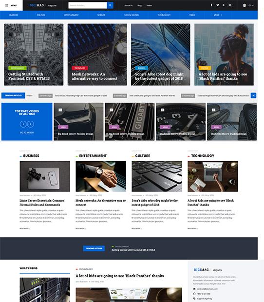 DigiMag WordPress Magazine Theme
