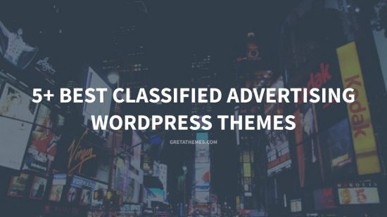 5+ Best Classified Advertising WordPress Themes