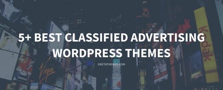 5+ Best Classified Advertising WordPress Themes