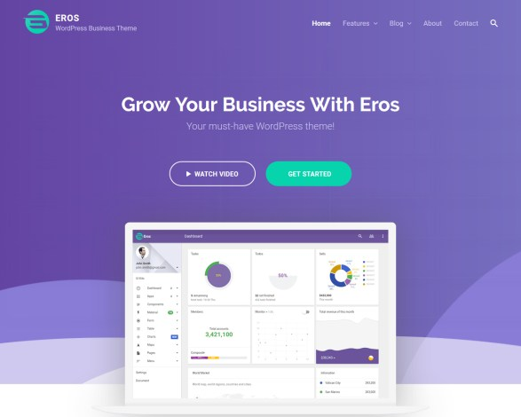 Eros WordPress Business Theme