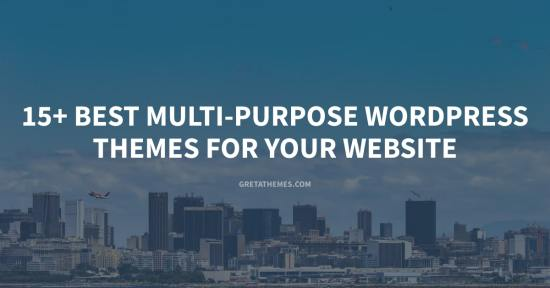 Top best multi-purpose WordPress themes for your website