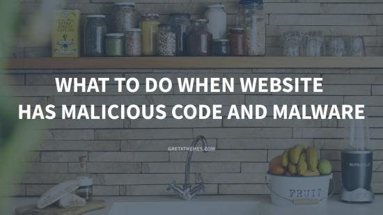 What to do when you think your website has malicious code and malware