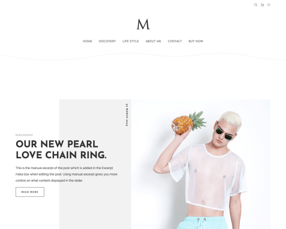 TheM WordPress Blog Theme