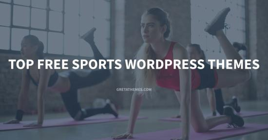 Top free sports WordPress Themes