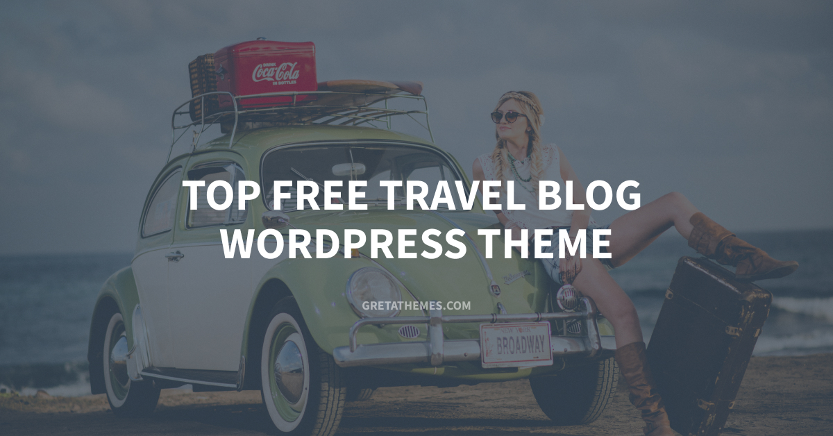 Top free travel blog WordPress theme