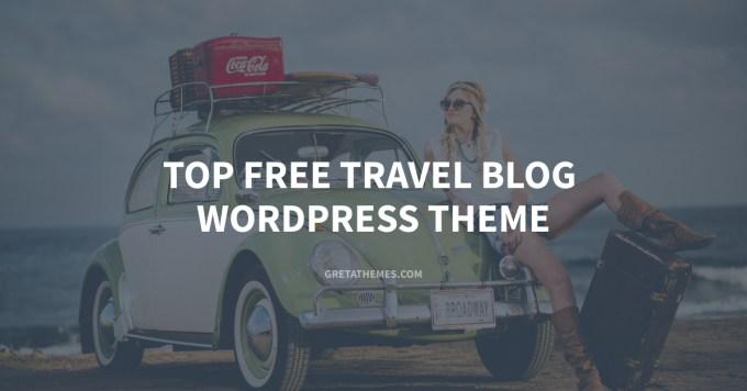 Top free travel blog WordPress theme