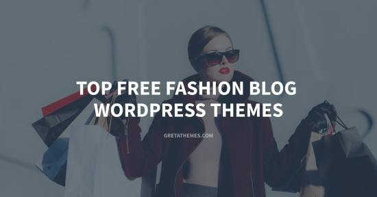 Top free fashion blog WordPress themes