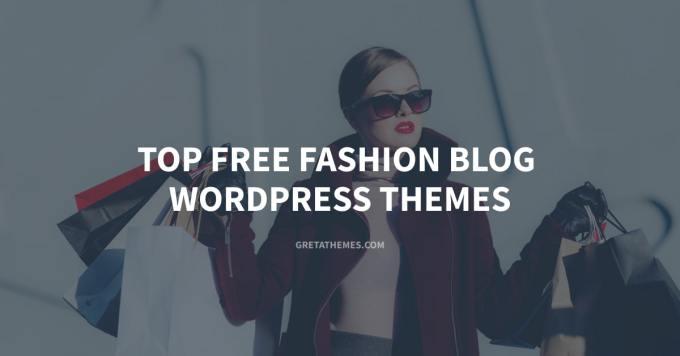 Top free fashion blog WordPress themes