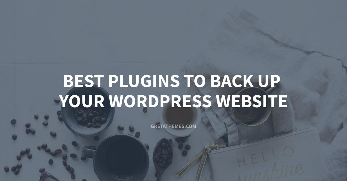 Best Plugins to Back Up Your WordPress Website