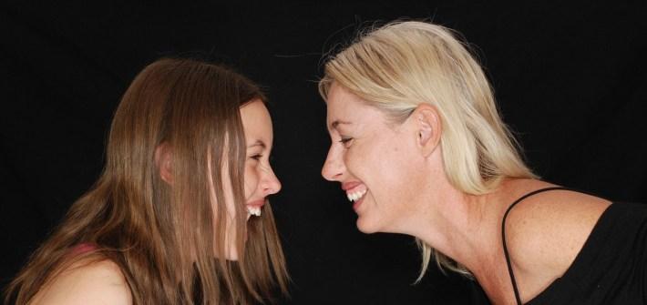 媽媽與女兒