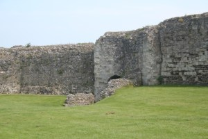 picture of Roman walls